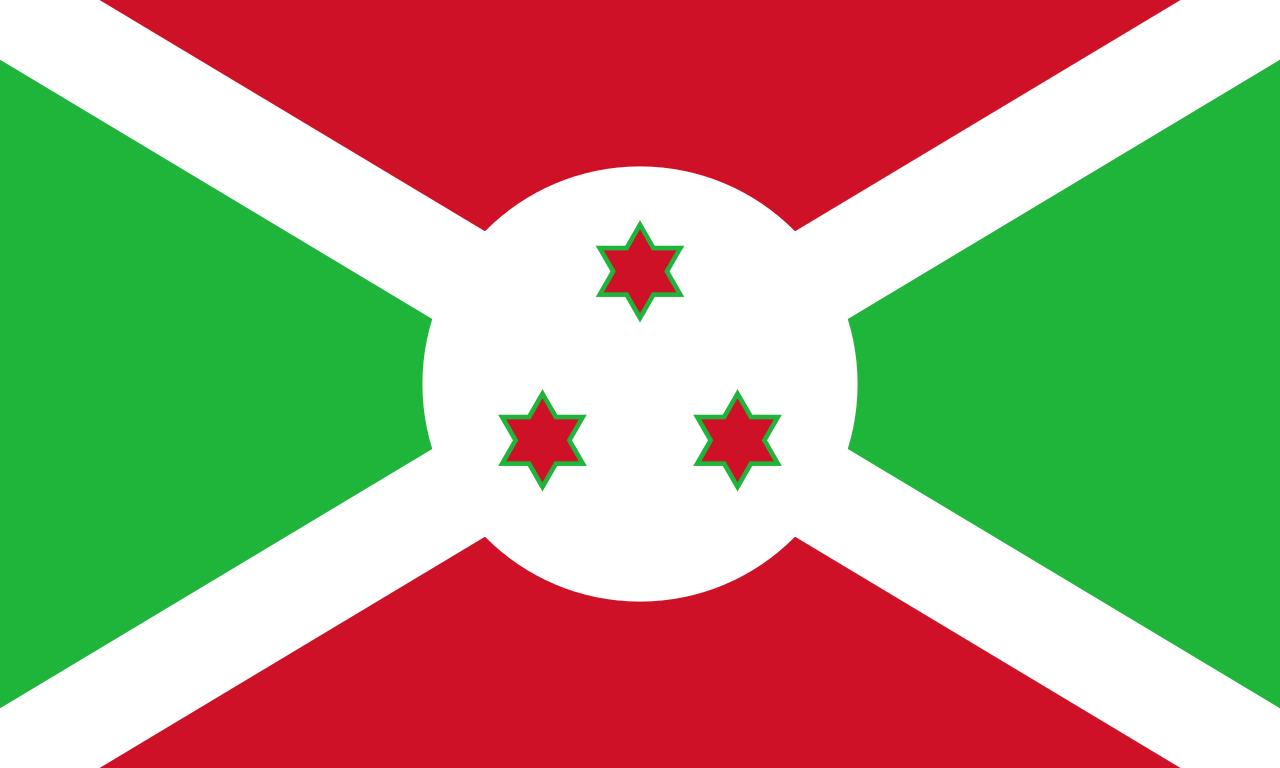 Бурунди флаг страны