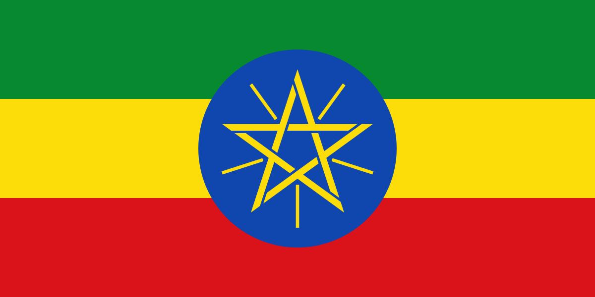 Эфиопия флаг страны