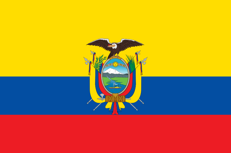 Эквадор флаг страны