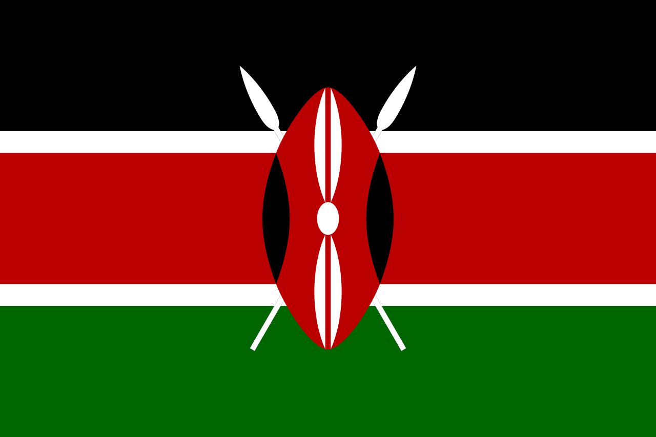 Кения флаг страны