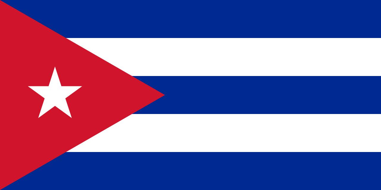 Куба флаг страны