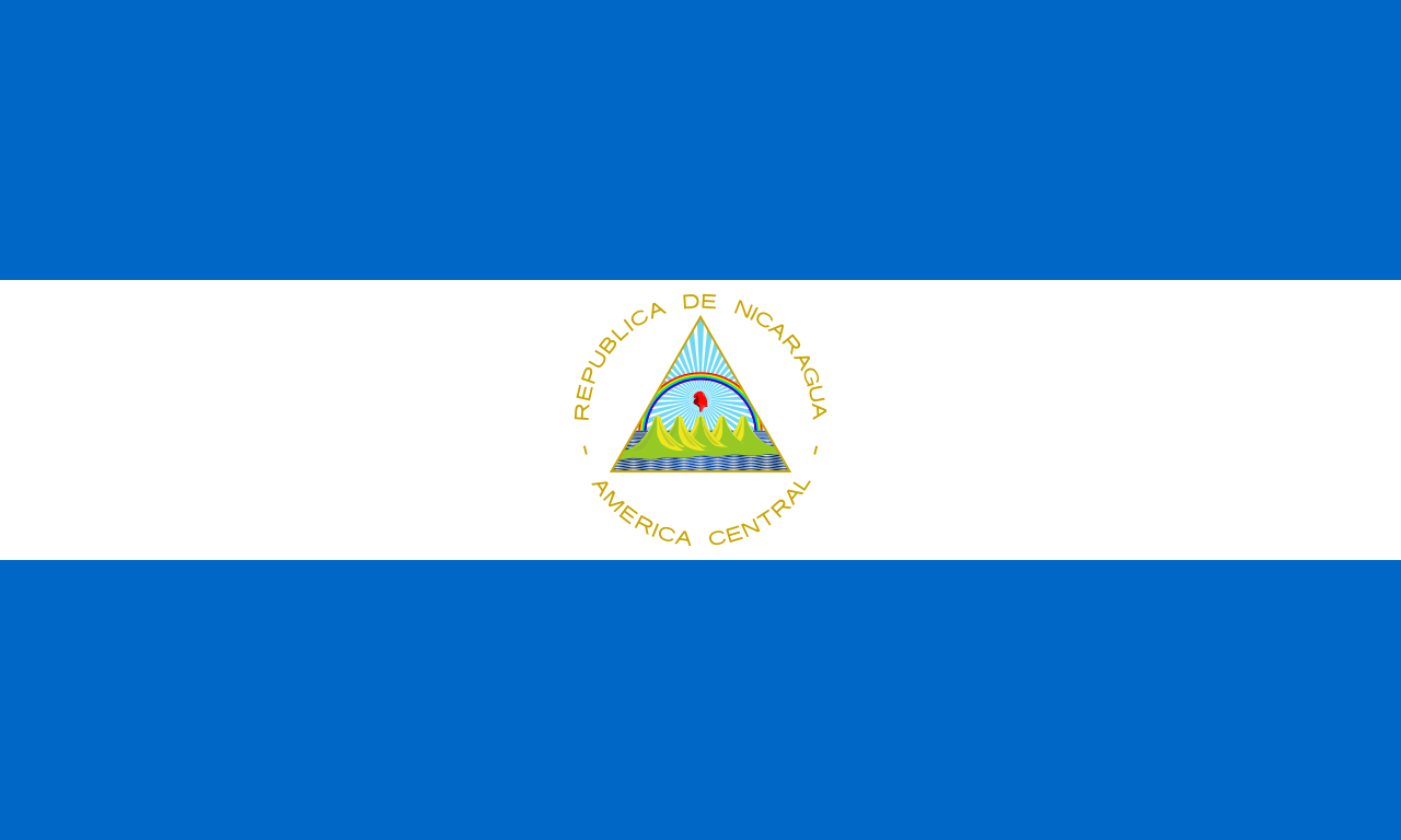 Никарагуа флаг страны