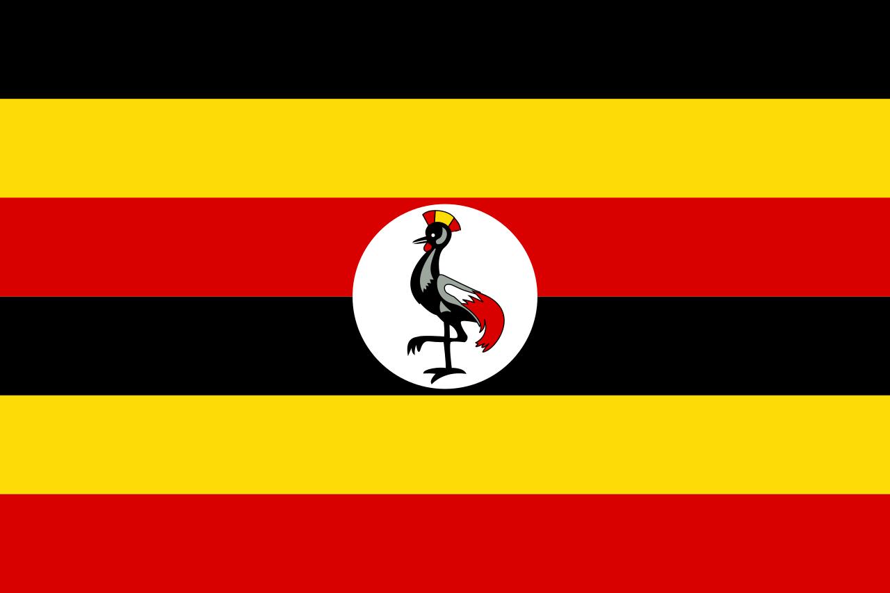 Уганда флаг страны